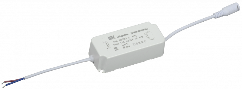 Драйвер LED тип ДВ SESA-ADH40W-SN Е для LED светильников 40Вт IEK, Точечные светодиодные панели