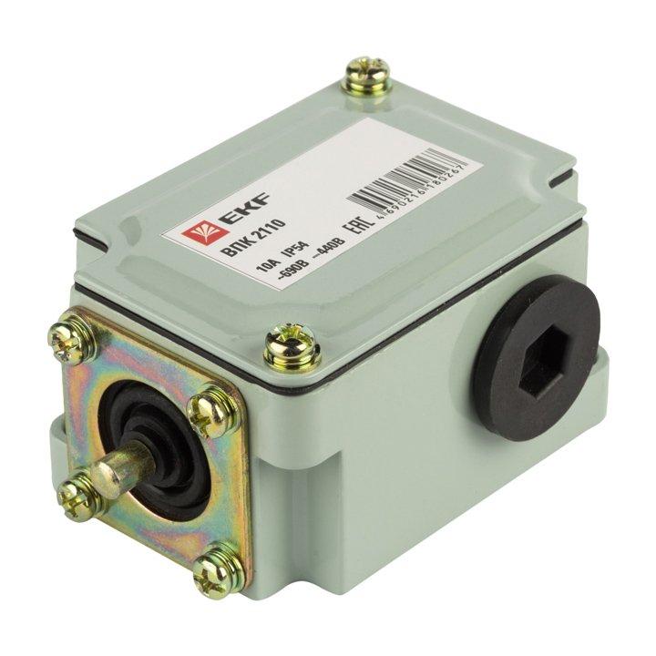 Путевой контактный выключатель ВПК 2110 EKF PROxima, Пакетные и конечные выключатели