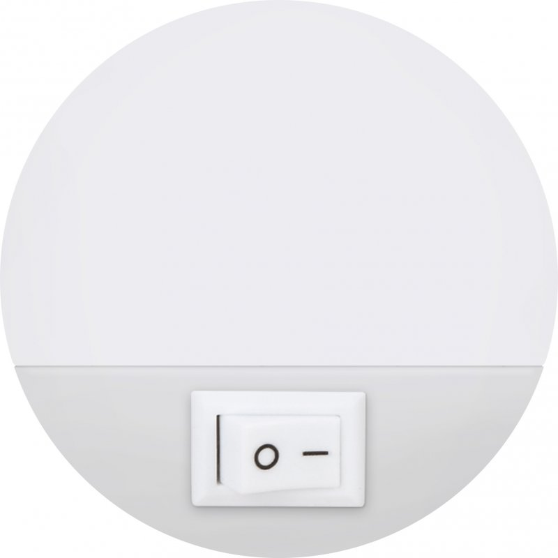 Ночник светодиодный NLE 07-LW белый с выключателем 230В IN HOME, Ночники светодиодные