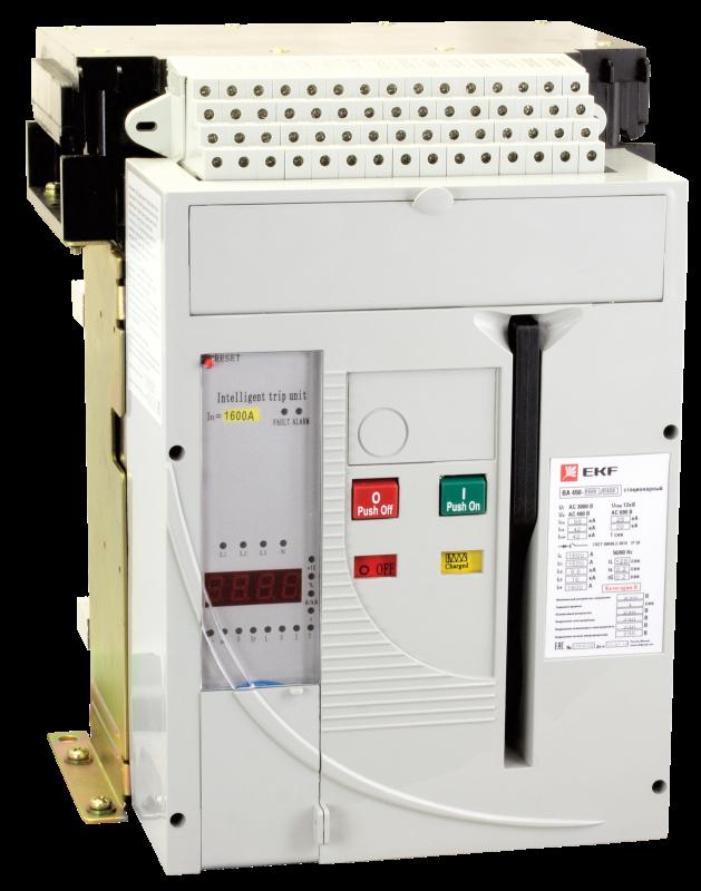 ВА-450 1000/1000А 3P 50кА выкатной EKF PROxima, Автоматические выключатели