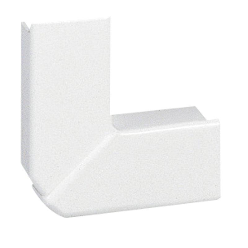 Угол плоский Legrand 20х12,5 для мини-плинтуса белый