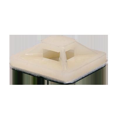 Площадка самоклеящаяся ПС-30 30х30 под хомуты (100штук/упаковка) IN HOME, Хомуты нейлоновые