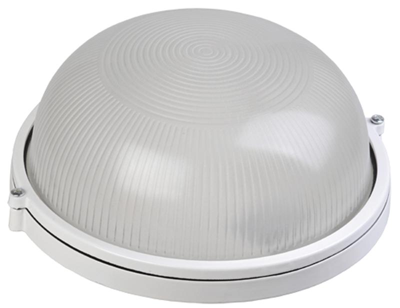 Светильник НПП 1301 белый круг 60Вт IP54 IEK, Светильники ЖКХ