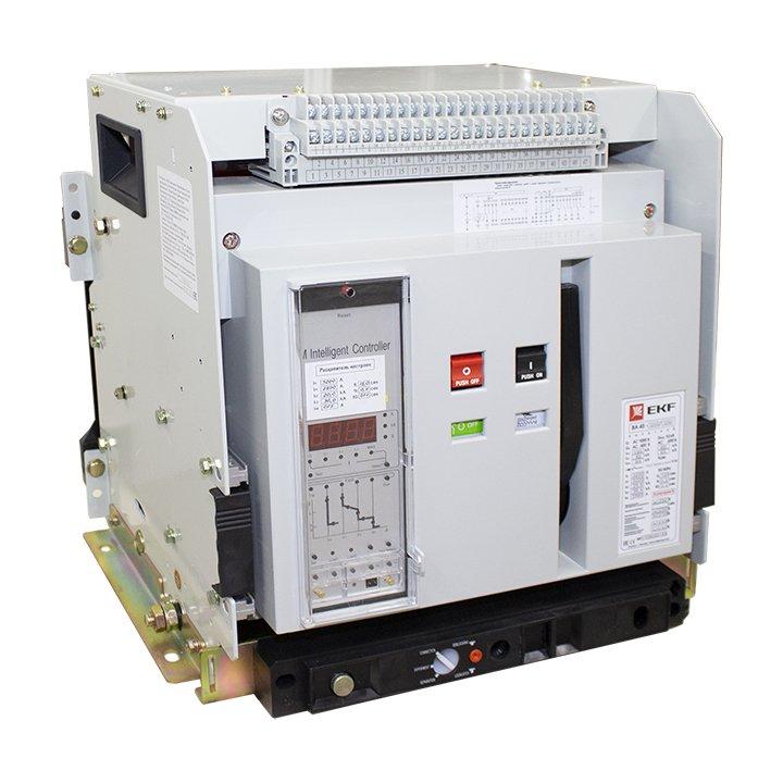 Выключатель автоматический ВА-45 3200/3200 3P 80кА выкатной EKF PROxima, Автоматические выключатели