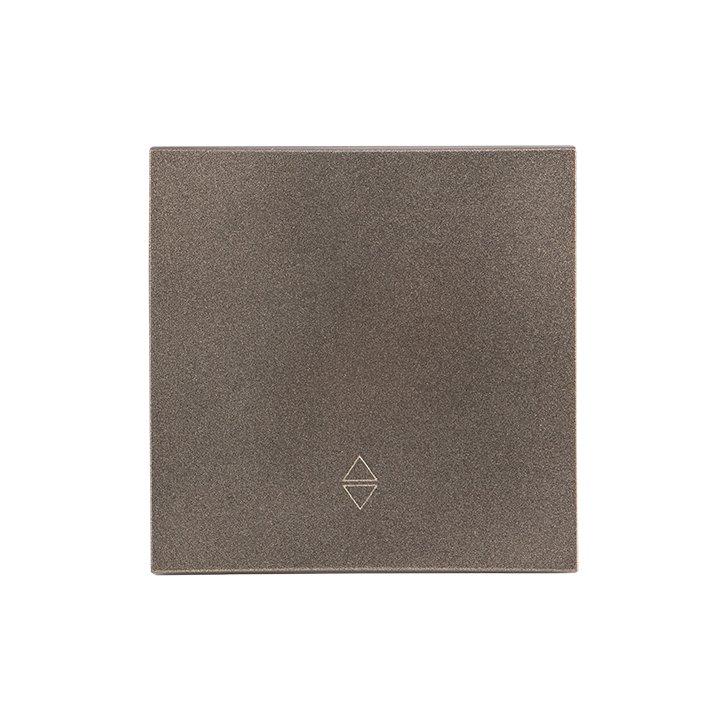 Валенсия лицевая панель выключателя проходного 1-кл. 10А графит EKF PROxima, Выключатели встраиваемые