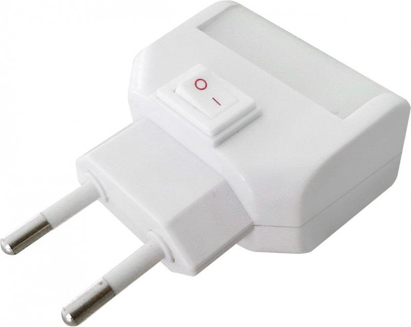 Ночник светодиодный NLE 09-LW белый с выключателем 230В IN HOME, Ночники светодиодные