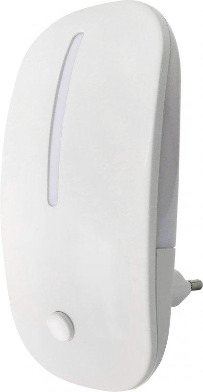 Ночник светодиодный NLE 05-MW  белый с выключателем 230В IN HOME, Ночники светодиодные