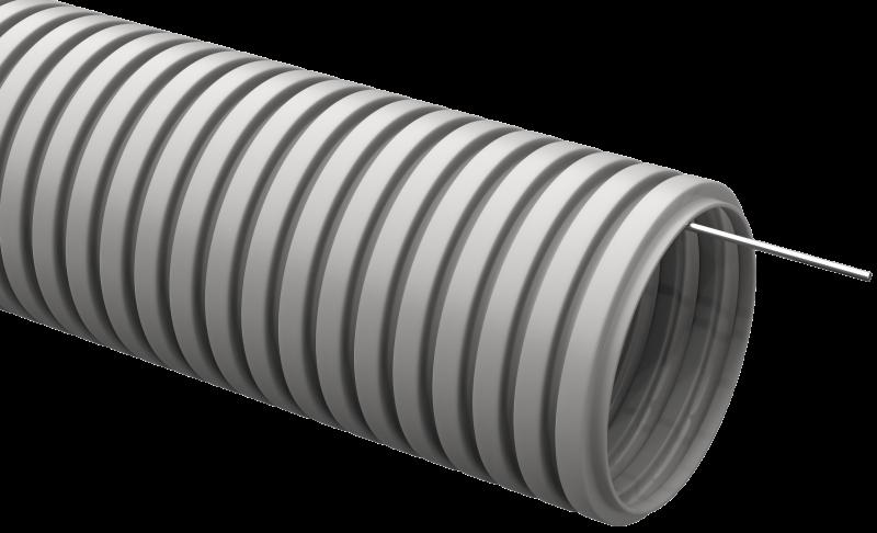 Труба IEK гофрированная ПВХ 50 с зондом
