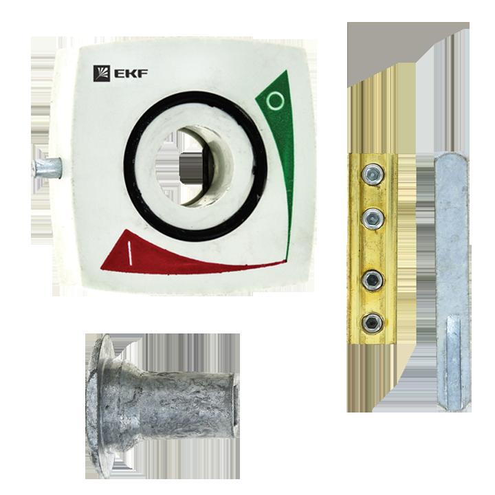 Рукоятка выносная на дверцу шкафа для выключателей-разъединителей ВРЭ 160А EKF PROxima, Рубильники и разъединители
