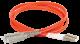 ITK Оптический шнур (патч-корд), MM, 50/125 (OM2), SC/UPC-LC/UPC,(Duplex),1м, кабель витая пара