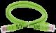 ITK Коммутационный шнур (патч-корд), кат. 6 UTP PVC 0,5м зеленый, кабель витая пара