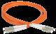 ITK Оптический шнур (патч-корд), MM, 50/125 (OM2), LC/UPC-LC/UPC,(Duplex),3м, кабель витая пара