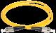 ITK Оптический шнур (патч-корд), SM, 9/125 (OS2), FC/UPC-FC/UPC,(simplex),1м, кабель витая пара