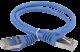 ITK Коммутационный шнур (патч-корд), кат.5Е FTP, 2м, синий, коммутационный шнур