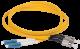 ITK Оптический шнур (патч-корд), SM, 9/125 (OS2), FC/UPC-LC/UPC,(Duplex),5м, кабель витая пара