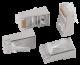 ITK Разъём RJ-45 FTP для кабеля SOLID кат.6, кабель витая пара