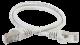 ITK Коммутационный шнур (патч-корд), кат.5Е FTP, LSZH, 0,5м, серый, коммутационный шнур
