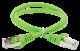 ITK Коммутационный шнур (патч-корд), кат.5Е FTP, 1,5м, зеленый, кабель витая пара