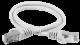 ITK Коммутационный шнур (патч-корд), кат.6А S/FTP, LSZH, 10м, серый, кабель витая пара
