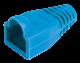 ITK Колпачок изолирующий для разъема RJ-45, PVC, СИНИЙ, Штекеры телефонные и телевизионные