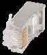 ITK Разъём RJ-45 FTP для кабеля кат.5Е, кабель витая пара