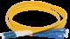 ITK Оптический шнур (патч-корд), SM, 9/125 (OS2), LC/UPC-SC/UPC,(Duplex),2м, кабель витая пара