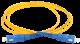 ITK Оптический шнур (патч-корд), SM, 9/125 (OS2), SC/UPC-SC/UPC,(simplex),1м, кабель витая пара