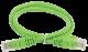 ITK Коммутационный шнур (патч-корд), кат.5Е UTP, 2м, зеленый, кабель витая пара