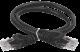 ITK Коммутационный шнур (патч-корд), кат. 6 UTP PVC 2м черный, кабель витая пара