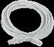 ITK Коммутационный шнур (патч-корд), кат.5Е UTP, 5м, серый, коммутационный шнур