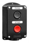 Пост кнопочный ПКЕ 212-2 У3 IP40 (пластик, Кнопочные посты