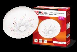 Светильник светодиодный серии DECO 24Вт 230В 6500К 1560лм 300х55мм КАРУСЕЛЬ IN HOME, Потолочные светильники