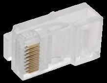 ITK Разъём RJ-45 UTP для кабеля кат.5Е, кабель витая пара