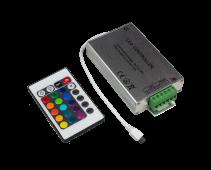 Контроллер LS-CB-12 12А 12В 16 статических 4 динамических канала IN HOME, Комплектующие к светодиодной ленте