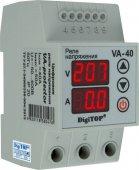 Реле напряжения VA-40А DigiTOP 40А 8800 ВА, Реле напряжения и тока