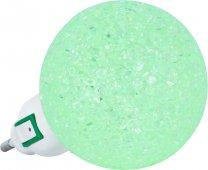 Ночник светодиодный NLA 10-BG ШАР зелёный с выключателем 230В IN HOME, Ночники светодиодные