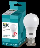 Лампа светодиодная LED-A60 ECO 11Вт 230В 4000К E27 IEK, Лампы LED-A