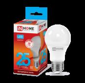 Лампа светодиодная LED-A65-VC 25Вт 230В Е27 4000К 2250Лм IN HOME, Лампа LED-A