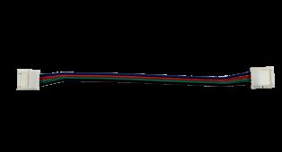 Соединитель LS50-RGB-CС 20см со шнуром IN HOME, Комплектующие к светодиодной ленте
