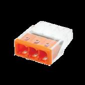 Строительно-монтажная клемма СМК772-203 (4штук/упаковка) IN HOME, Соединительные изолирующие зажимы