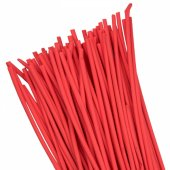 Термоусаживаемая трубка ТУТ 6/3 красная в отрезках по 1м EKF PROxima, Термоусаживаемые трубки