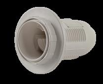 Патрон Е27-ППК пластиковый с прижимным кольцом IN HOME, Патроны