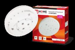 Светильник светодиодный серии DECO 36Вт 230В 6500К 2340лм 350х55мм СОЗВЕЗДИЕ IN HOME, Потолочные светильники