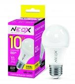 Лампа светодиодная LED-A60 10Вт 230В Е27 3000К 800Лм NEOX, Лампы LED-A