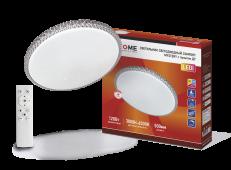 Светильник светодиодный COMFORT MYSTERY 120Вт 230В 3000-6500K 9600Лм 500x60 мм с пультом ДУ IN HOME, Потолочные светильники