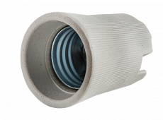 Патрон Е27 Д-002 керамический накладной IN HOME, Патроны
