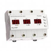 Переключатель фаз PS-63A DigiTOP 63A, Реле напряжения и тока