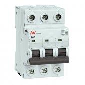Выключатель нагрузки AVN 3P 63A EKF AVERES, Выключатели нагрузки