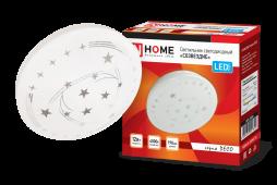 Светильник светодиодный серии DECO 12Вт 230В 4000К 780лм 190х65мм СОЗВЕЗДИЕ IN HOME, Потолочные светильники
