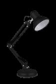 Светильник настольный под лампу СНО 15Ч на основании 60Вт E27 230В ЧЕРНЫЙ (коробка) IN HOME, Настольные светильники